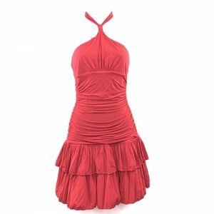 Bcbg Max Azria Small Halter Cocktail Dress